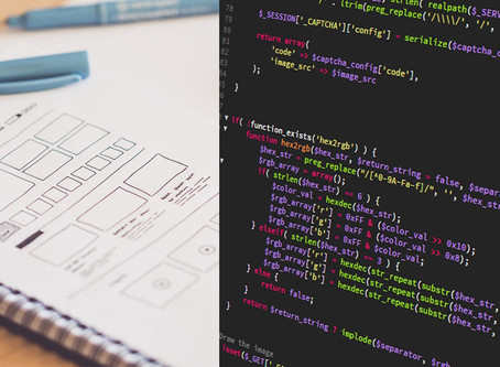 Graphic design, web design, and web development - what's the difference?