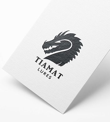 Tiamat Lures logo design by Origami Graphics
