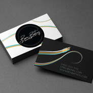 Ben Batros Business Card Design