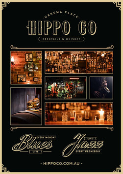 Hippo Co - Venue Poster