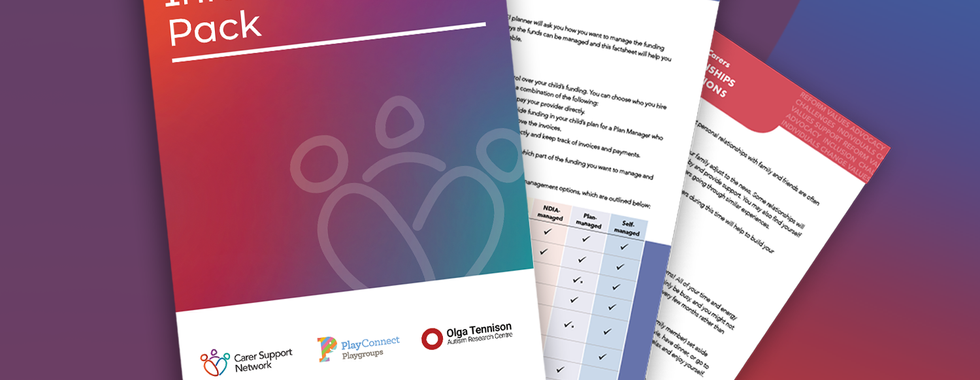 Carers Australia Info Pack