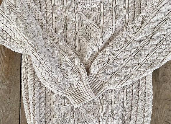 Chandail tricot Serge Saint Yves small/médium