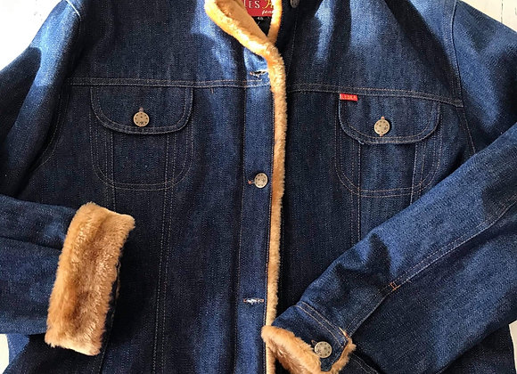 Manteau jeans Leska