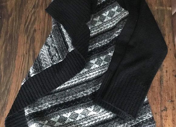 Veste de tricot large