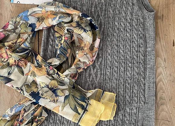 Chandail gris Vero moda médium