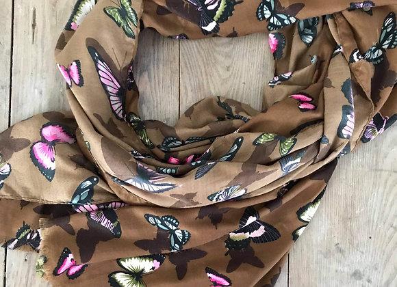 Châle papillon
