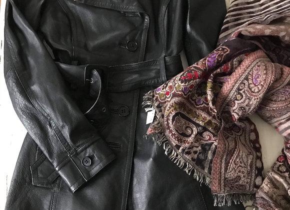 Manteau de cuir Armor jeans