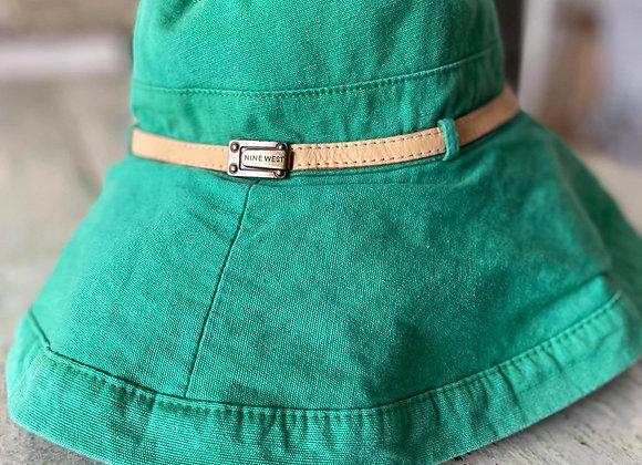 Chapeau Nine West coton réversible