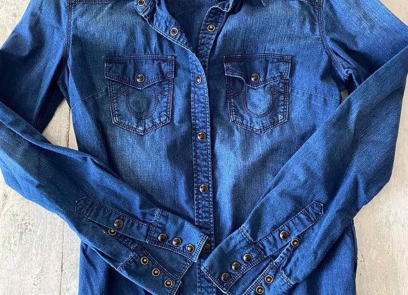 Chemise True Religion en jeans xsmall