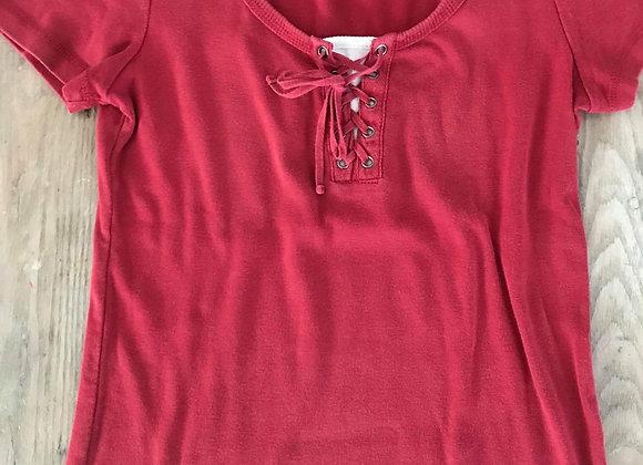 T-shirt à lacet médium
