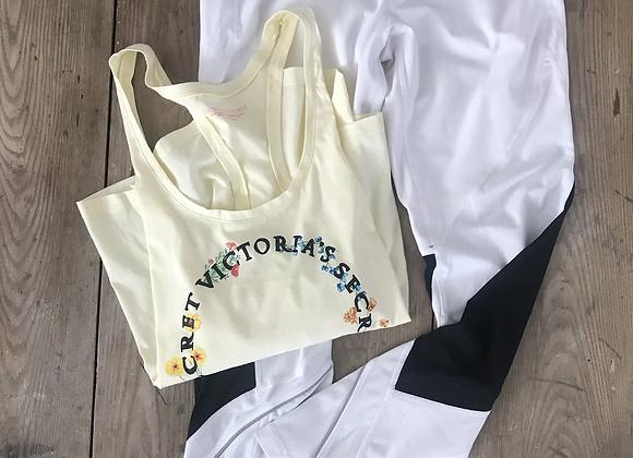 Camisole jaune Victoria Sport large