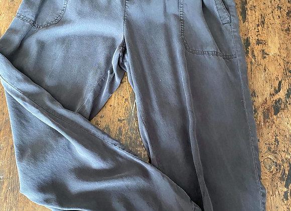 Pantalon rayonne large
