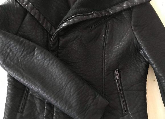 Manteau bagatelle cuir polyuréthane