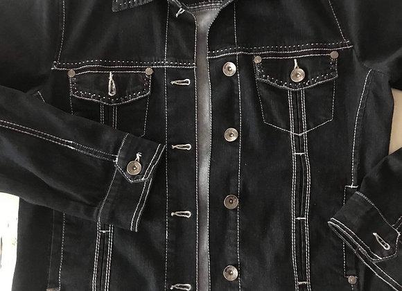 Veste de jeans denin noir Lois