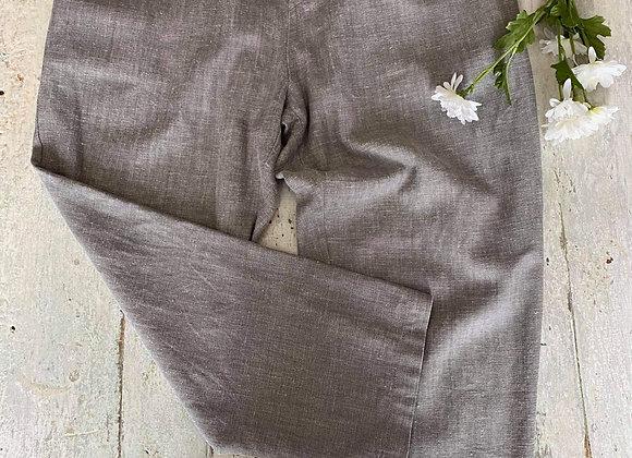 Pantalon en lin Lilibleu médium