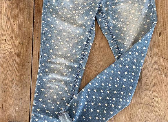 Jeans denin spandex gr 9/10