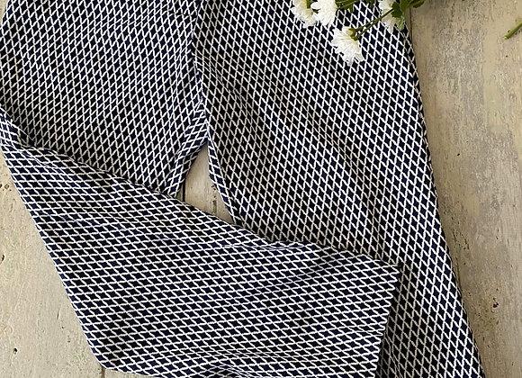 Pantalon stretch Mario Serrani Italy gr 12 avec gaine