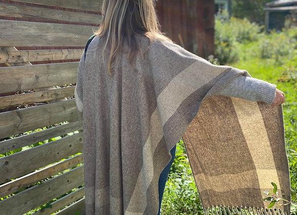 Châle Cap pure laine