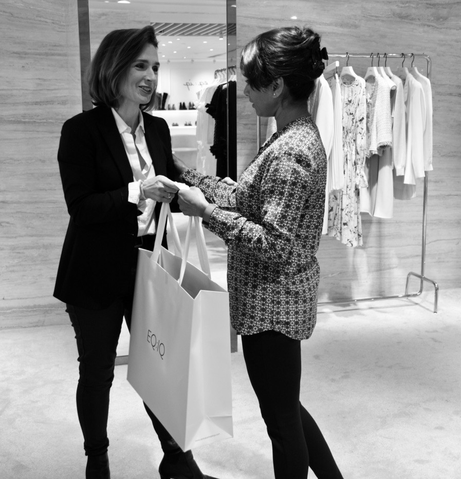 Personal Shopping session with a client