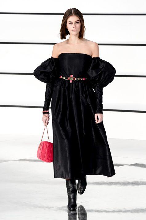 Puffed sleeves - Chanel