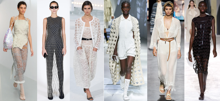 Netting Spring Summer style trend 2021