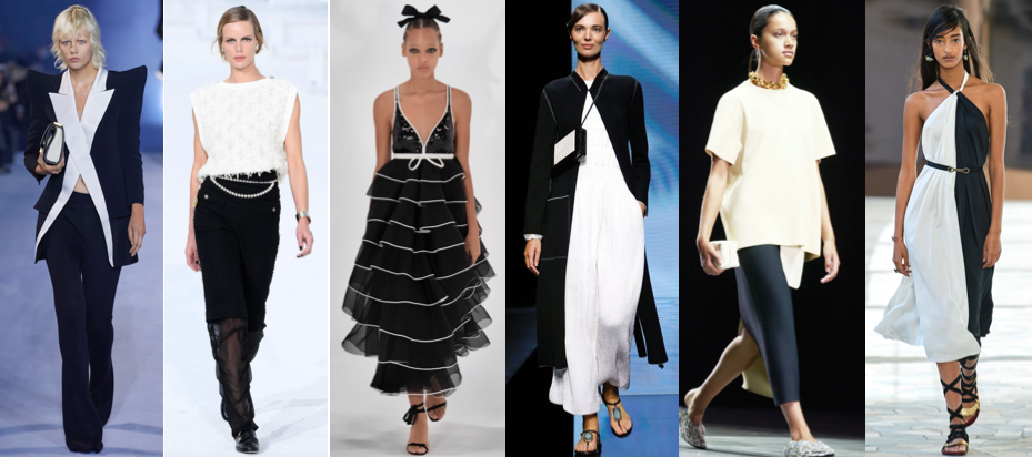 Monochrome Spring Summer style trend 2021