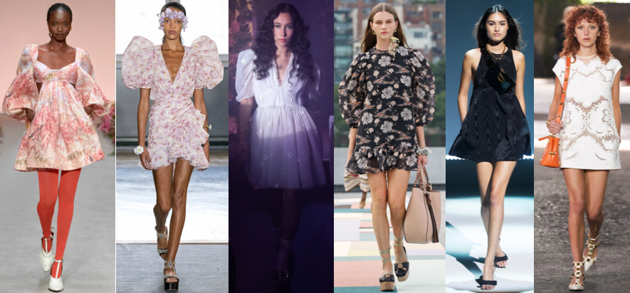 Babydoll Spring Summer style trend of 2021