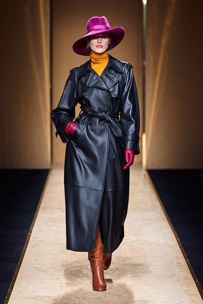 Leather coat - Luisa Spagnoli