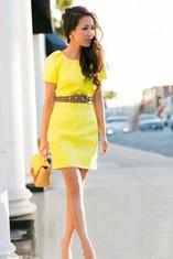 small bag - yellow