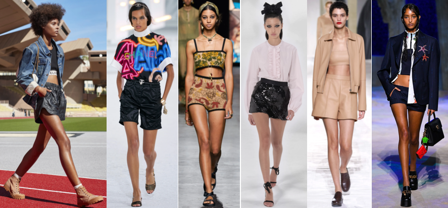 Mini short spring summer style trends of year 2021