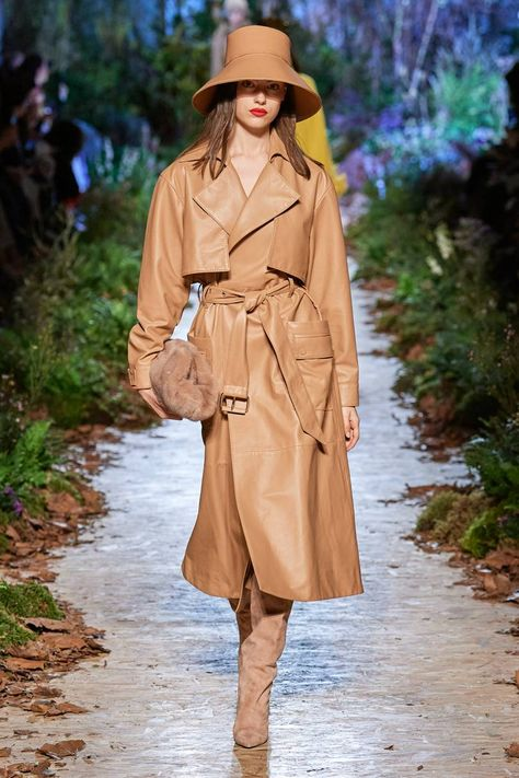 Leather coat - Ralph & Russo