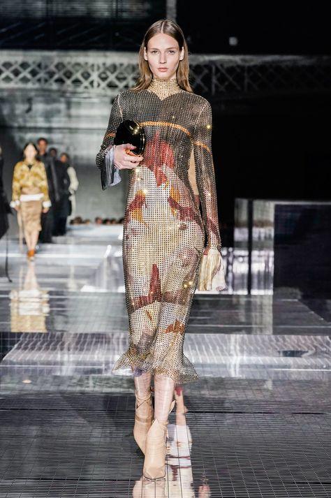 Slinky dress - Burberry