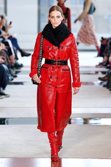 Leather coat - Longchamp