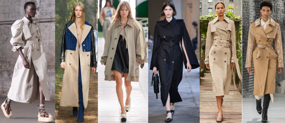 Trench coat Spring Summer style trend of 2021