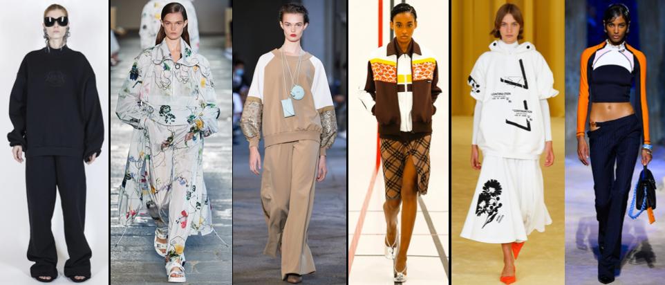 Urban chic sportwear Spring Summer style trend 2021