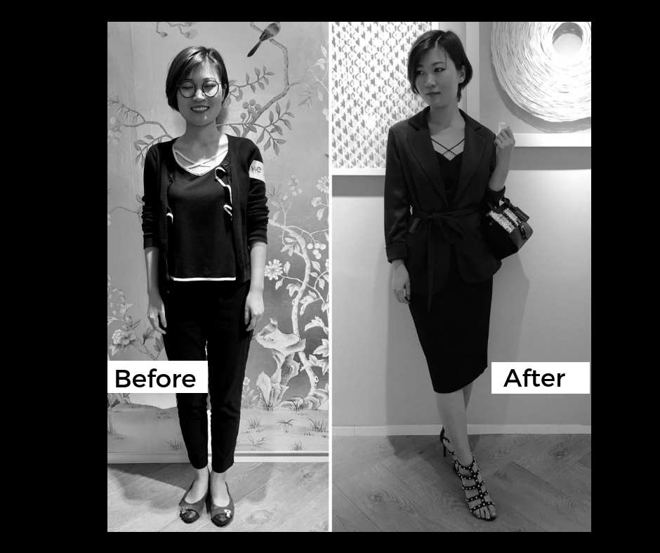 Complete style makeover by Celine