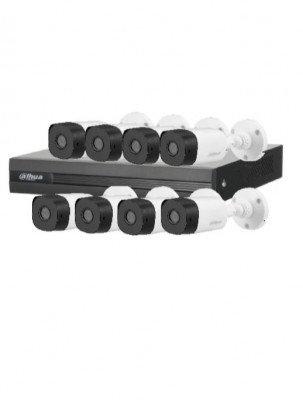 Kit 8 Canales 1080p Dahua Technology