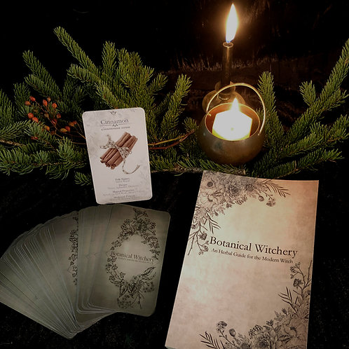 Botanical Witchery An Herbal Guide for the Modern Witch Book
