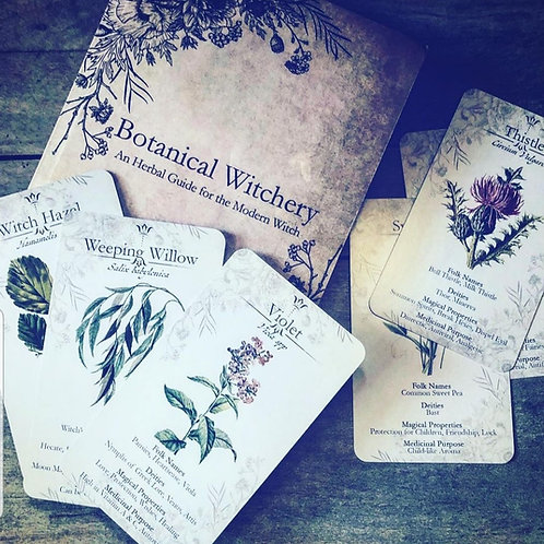 Botanical Witchery Cards & Book