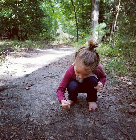 bare feet hike