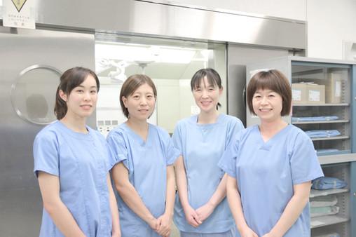 手術室スタッフのみなさん