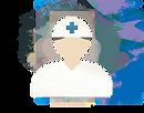 医療従事者のイラスト