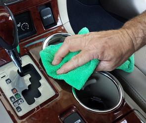 Interior Car Cleaner Console