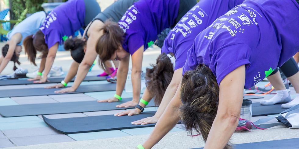 Yoga at Hemisfair
