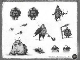 CONCEPT ART FOR GAMES