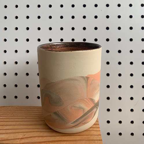 Juice Cup - Peach & Copper