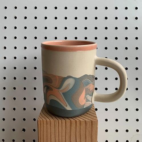 Tall Marble Mug
