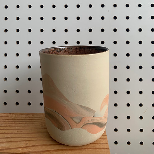 Juice Cup - Peach & Copper