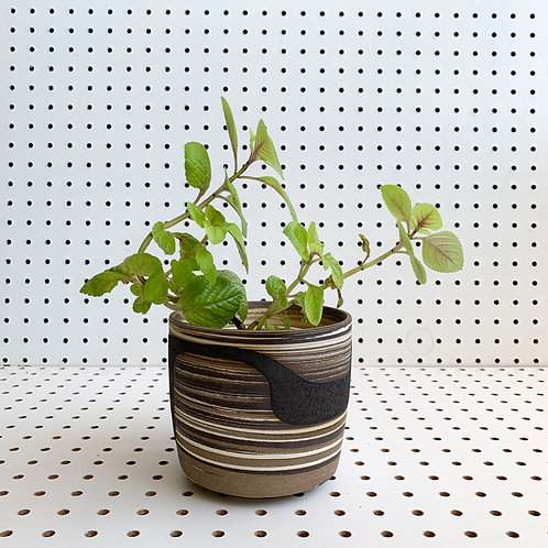 Agateware Planter