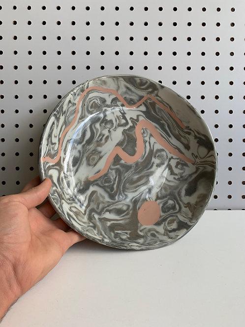 agateware plate 004